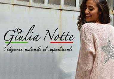 Giulia Notte vêtements Italie