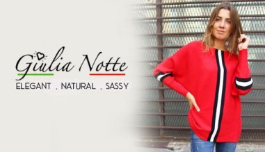 Giulia Notte, Clothes for women made in Italy